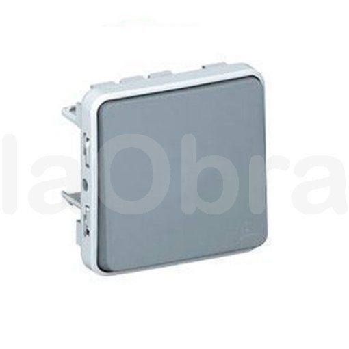 Conmutador componible de superficie Legrand Plexo