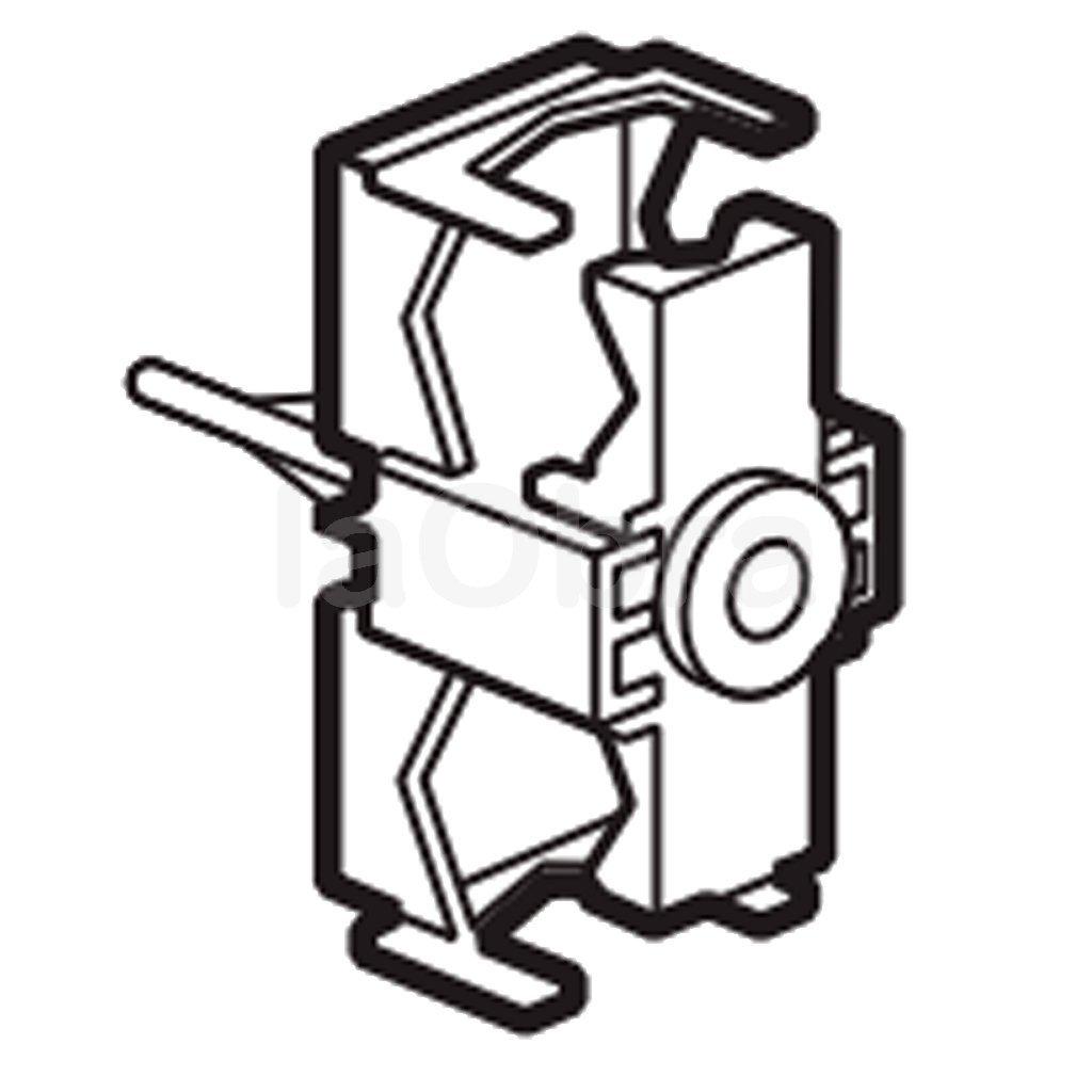 Abrazadera portatubos para instalación de canal tubería