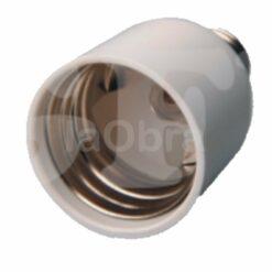 Adaptador bombillas todos los casquillos E27 a E40