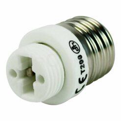 Adaptador bombillas todos los casquillos de E27 a G9