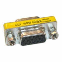 Adaptador HD-DB15 hembra-hembra