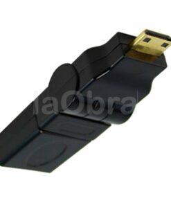 Adaptador mini HDMI macho a mini HDMI hembra