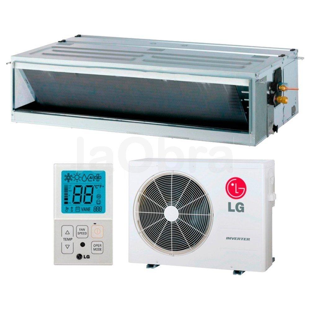 Aire acondicionado conductos compacta inverter lg con for Aire acondicionado montaje incluido