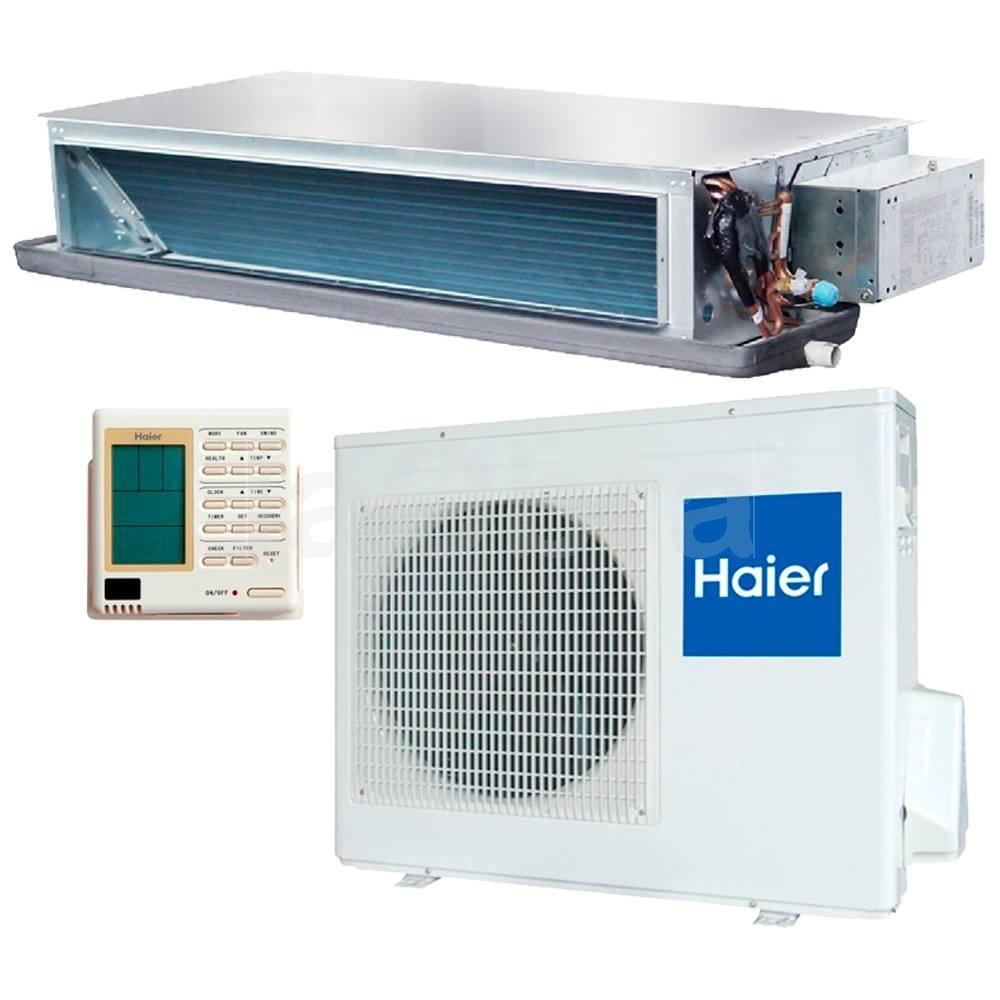 Aire acondicionado conductos inverter haier con env o r pido for Aire acondicionado montaje incluido