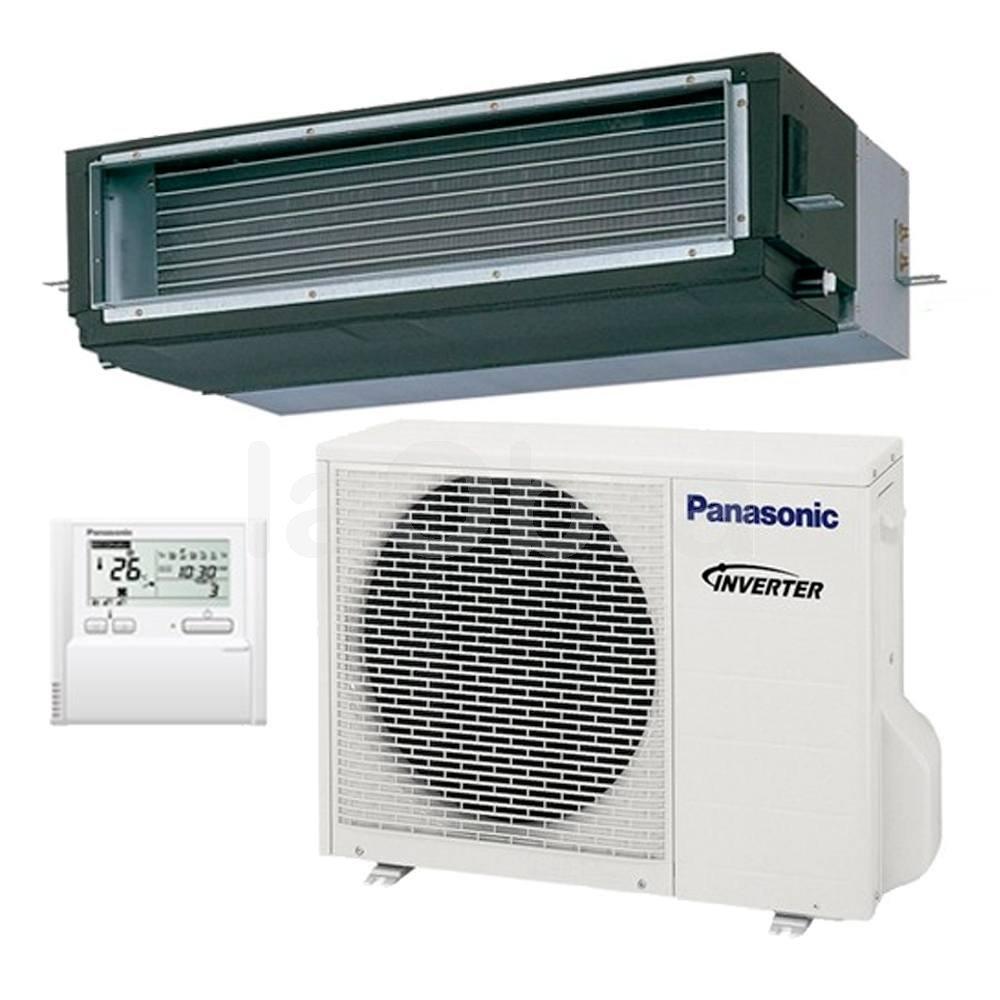Aire acondicionado conductos inverter panasonic con env o for Aire acondicionado 3500 frigorias inverter