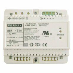 Alimentador DIN6 240Vac 18Vdc 3.5A Fermax 4830