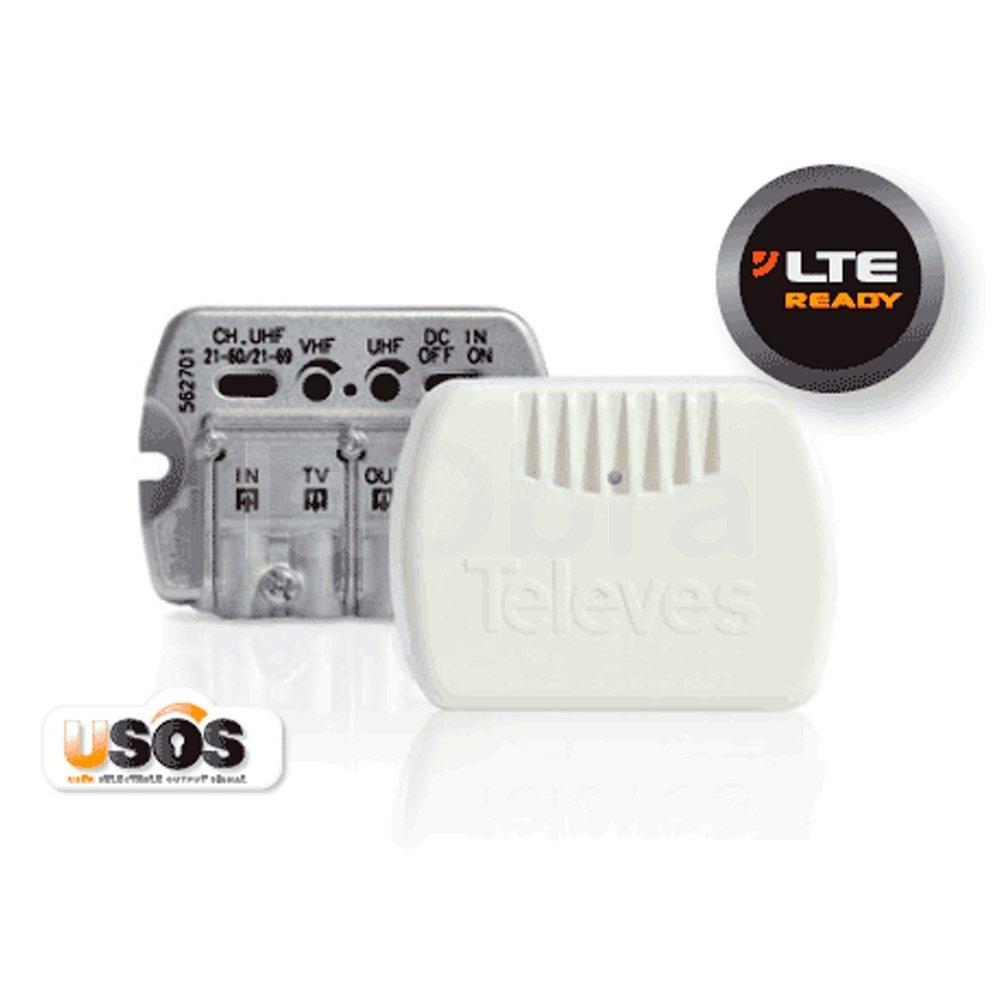 Amplificador interior de vivienda EasyF Televes