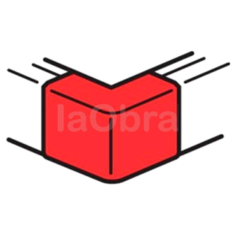 Angulo exterior minicanal