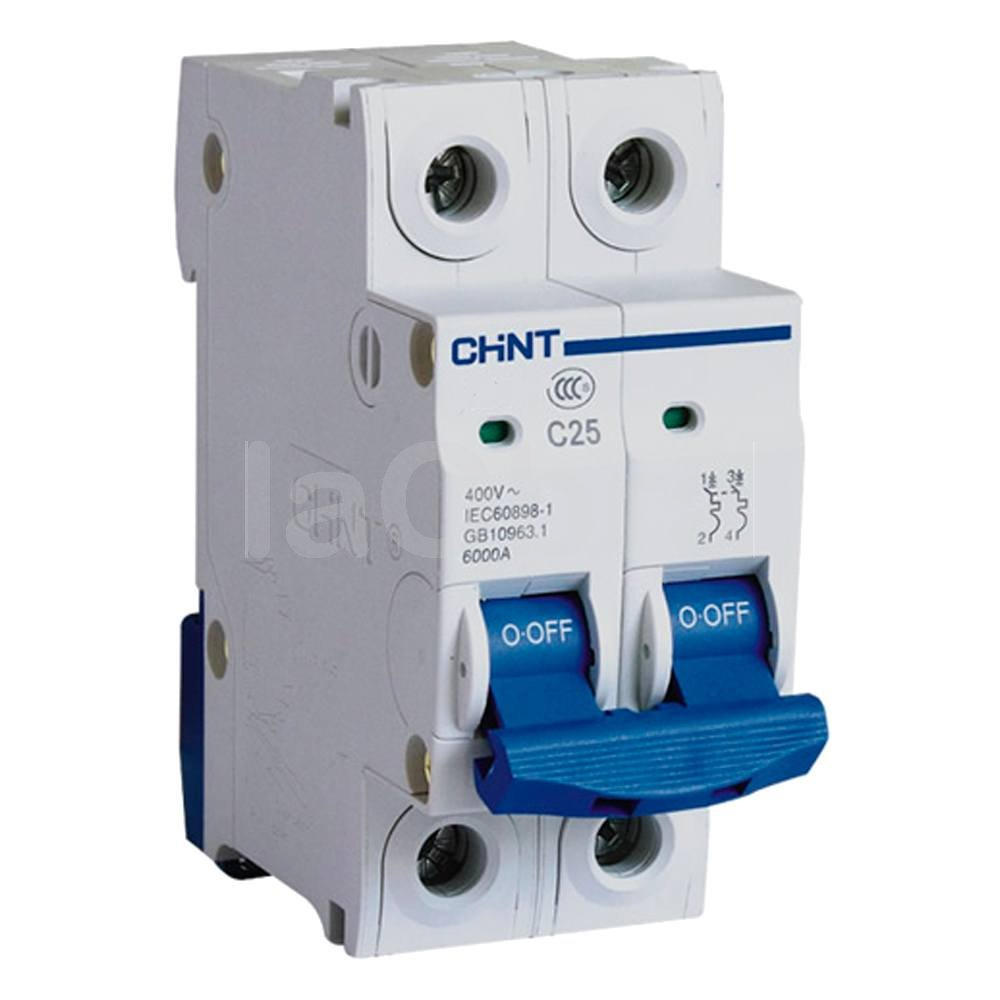 Automático magnetotérmico monofásico 2P Chint