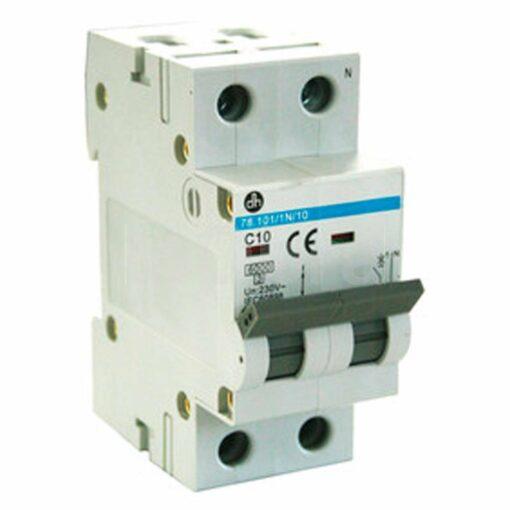 Automático magnetotérmico monofásico 1P+N Electro DH