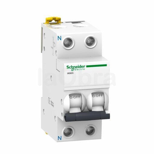 Automático magnetotérmico monofásico 1P+N Schneider Electric