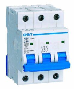 Automático magnetotérmico trifásico 3P Chint