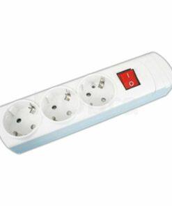 Base múltiple con interruptor y cable alimentación