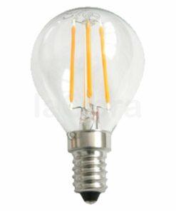 Bombilla led esférica filamento E14