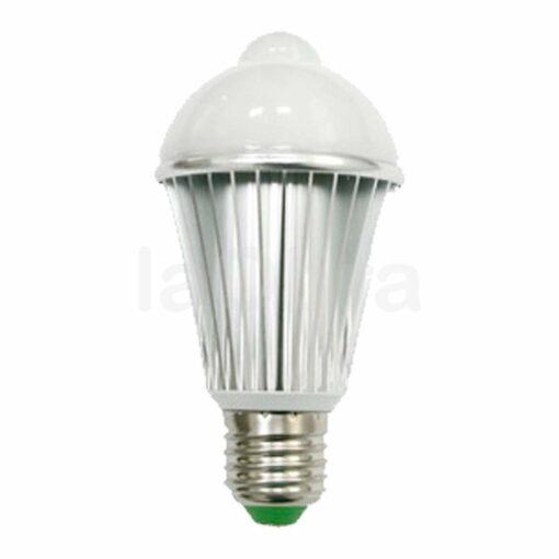 Bombilla led sensor movimiento detector luminosidad E27