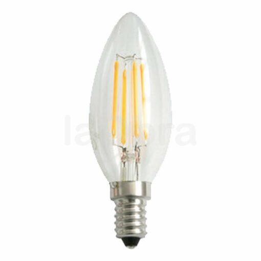 Bombilla led vela filamento E14