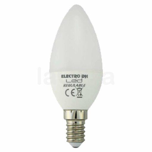 Bombilla led vela regulable E14