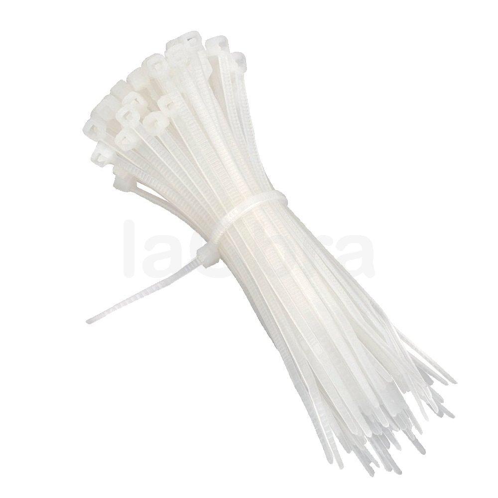 Bridas sujeta cables blancas