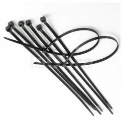 Bridas sujeta cables negras