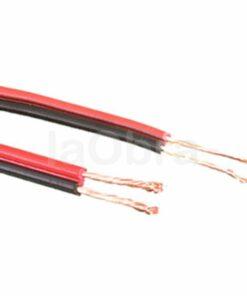 Cable audio paralelo rojo negro
