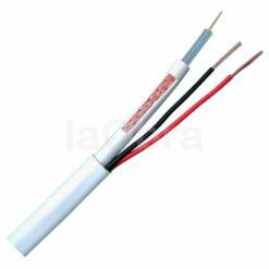 Cable combinado RG59 + alimentación para cámaras seguridad