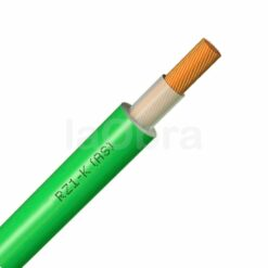 Cable eléctrico unipolar libre halógenos verde RZ1-K