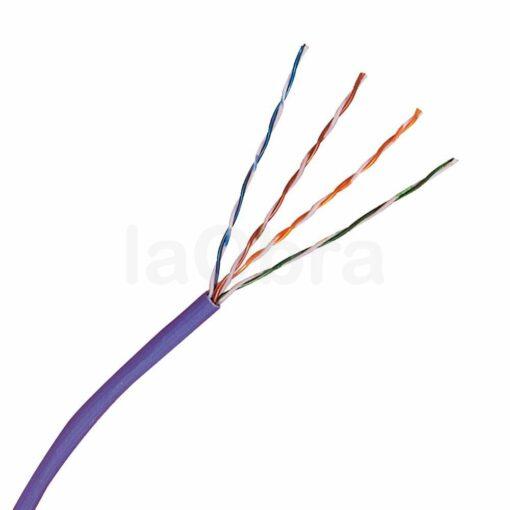 Cable UTP libre halógenos categoría 6