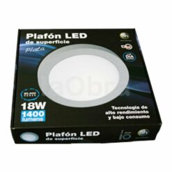 Caja del downlight led superficie redondo