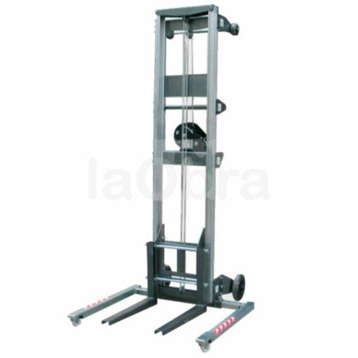 Carretilla elevadora manual aluminio aire acondicionado