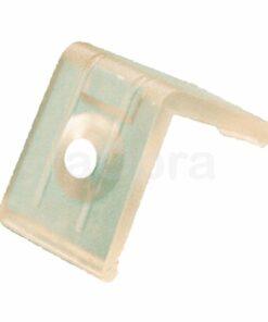 Clip sujección perfil aluminio ángulo para tira led