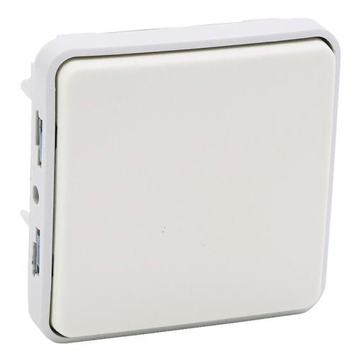 Conmutador Blanco Legrand Plexo