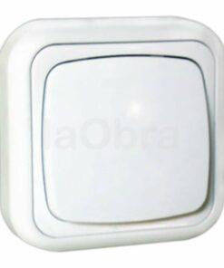 Conmutador superficie blanco