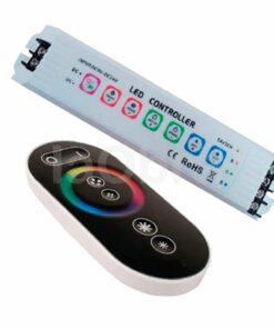 Controlador RGB con teclado y mando a distancia