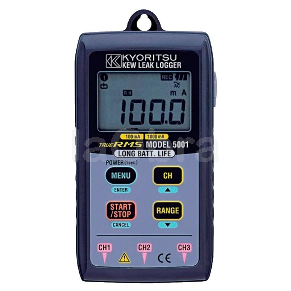 Data Logger registrador fugas 1000mA Kyoritsu 5001