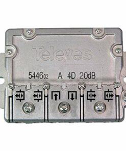 Derivador televisión Easy F Televes