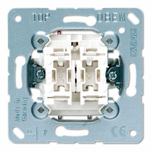Doble pulsador Jung LS 990