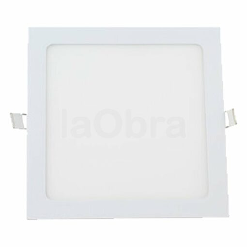 Downlight led cuadrado color blanco
