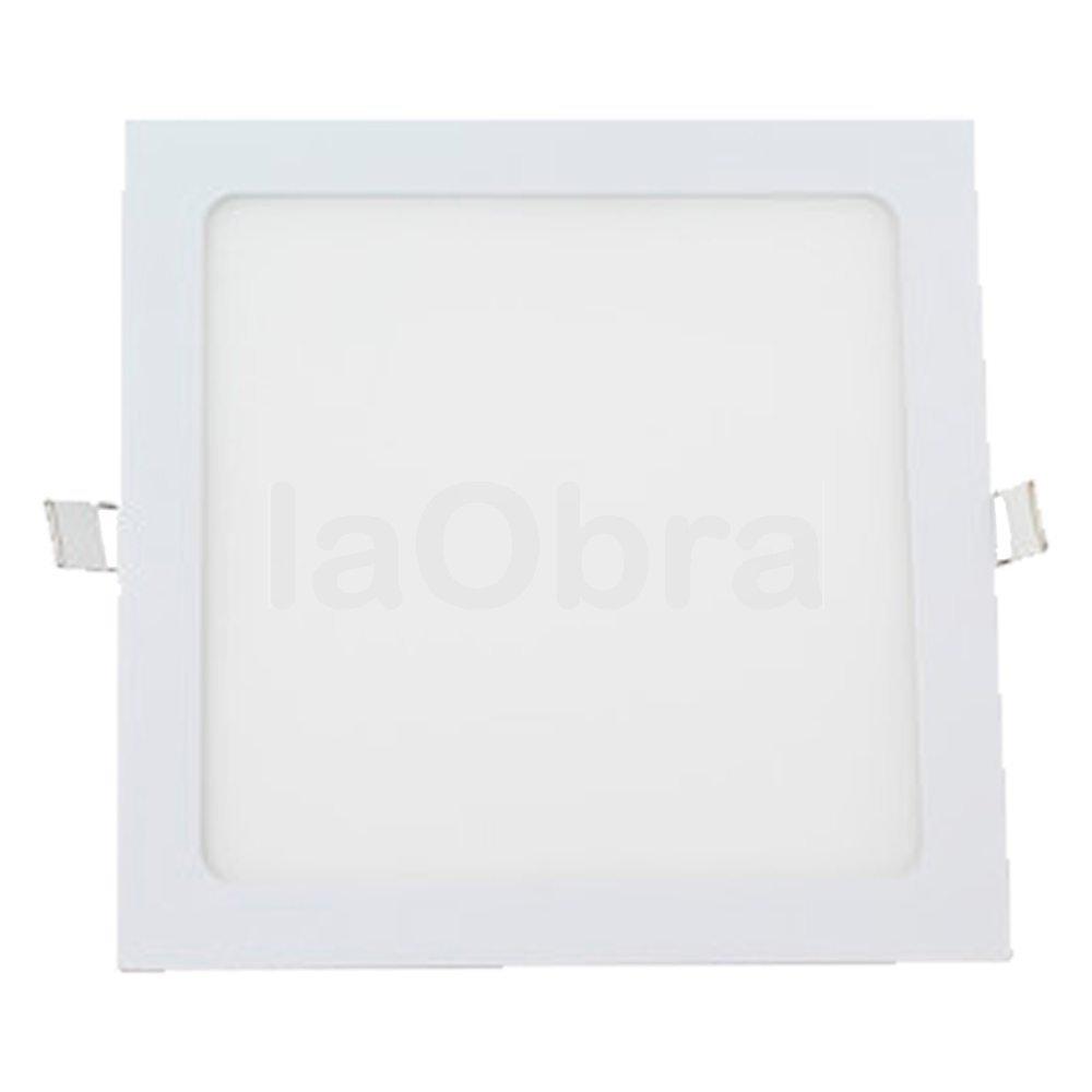Downlight led cuadrado color blanco