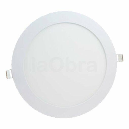 Downlight led redondo color blanco