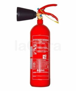 Extintor CO2 dióxido carbono 2 kg vaso difusor