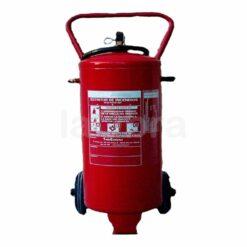 Extintor polvo sobre ruedas ABC