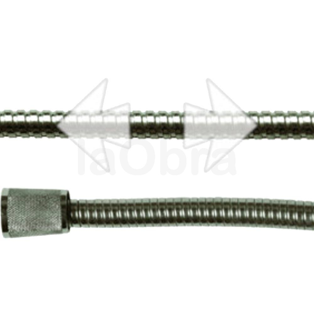Flexo ducha acero inoxidable extensible con env o r pido - Accesorios bano acero inoxidable ...