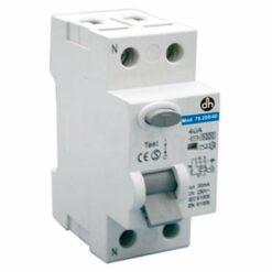 Interruptor diferencial monofásico 1P+N Electro DH