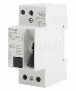Interruptor diferencial monofásico 1P+N Siemens