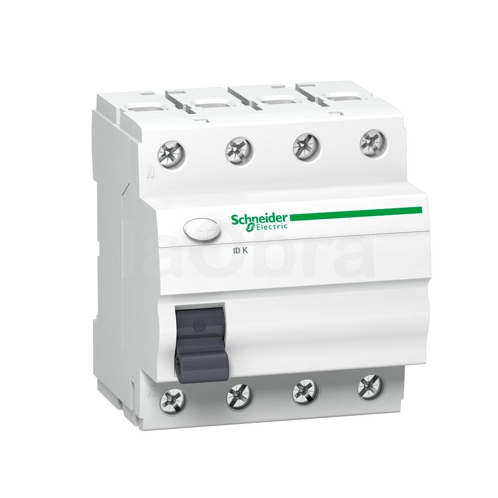 Interruptor diferencial trifásico 3P+N Schneider Electric