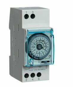 Interruptor horario analógico Hager EH211