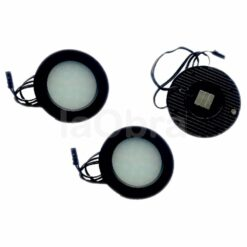 Kit 3 luces superficie circular 220v 3x1w