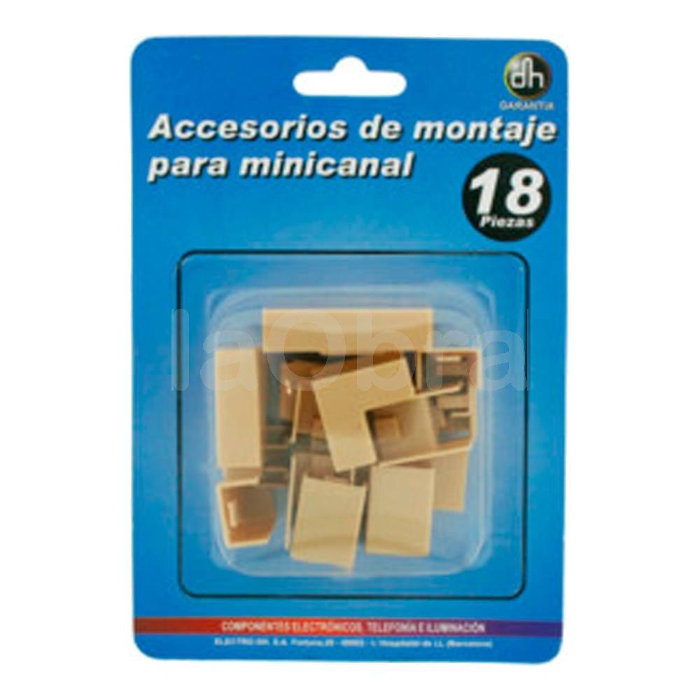 Kit accesorios para canaleta