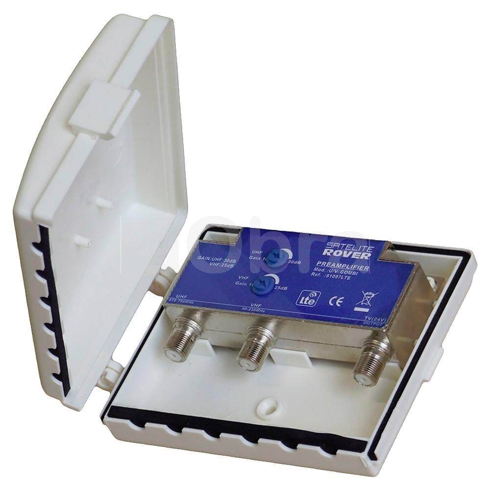 Kit amplificador y fuente Lte Rover