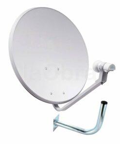 Kit antena parabólica con LNB y soporte Televes